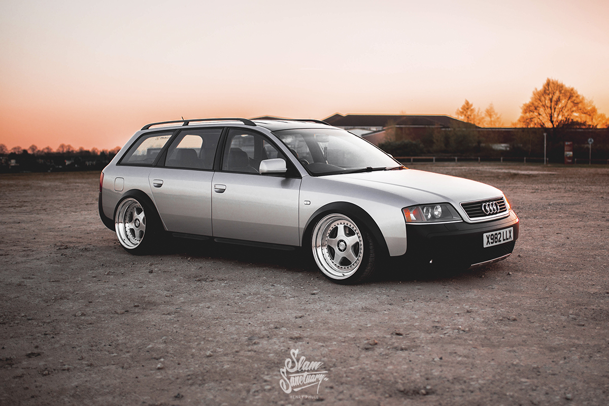 One For All Only Charged Dubs 2000 Audi C5 A6 Allroad Slam